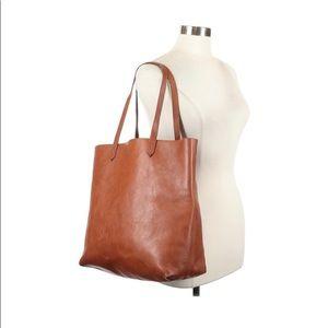 MADEWELL TRANSPORT TOTE- Saddle Leather- Light Use